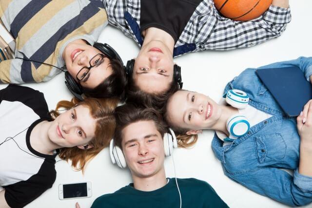 予備校に通ってる高校生がスタディサプリで学習している